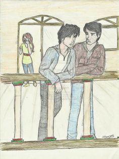 Kelsey, Kishan and Ren!!! One of my favorite fanarts.... Drawing- tiger's curse