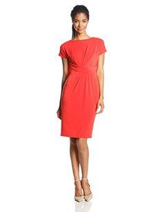 Anne Klein Women's Cap Sleeve Asymmetric Wrap Dress, Koi, 2 Anne Klein http://www.amazon.com/dp/B00JVGS0TW/ref=cm_sw_r_pi_dp_mCd6tb181TF6C