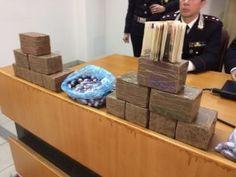 Arrestati due pusher lungo la Terni-Orte con 12 Kg. di 'fumo'