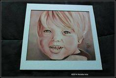Obra: Mason (Hijo de Kevin Backstreet Boys) Tecnica Oleo  Medidas Fibro facil 30 x 30 Año 2013  Replica
