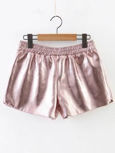 Shop Pink Elastic Waist Loose Shorts online. SheIn offers Pink Elastic Waist Loose Shorts & more to fit your fashionable needs.