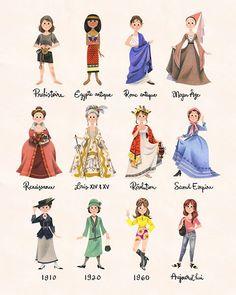 L'armoire aux costumes, femmes | Art Print | Geneviève Godbout – Sur ton mur