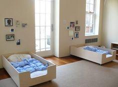 Montessori Kids Bedroom by rayhowett