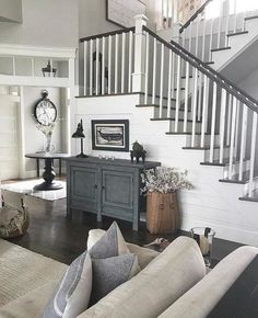 Home Renovation, Home Remodeling, Camper Renovation, Staircase Remodel, Staircase Makeover, Living Room Furniture, Home Furniture, Living Room Decor, Rustic Furniture