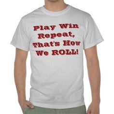 Play Win Repeat T-shirt