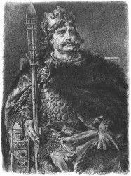 Bolesław Chrobry- autorstwa polskiego malarza Jana Matejko