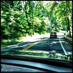 Beautiful drive back into NYC in the #GMC