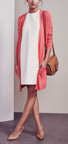 This versatile cardigan is the perfect addition to spring wardrobes!