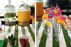bridal shower mimosas