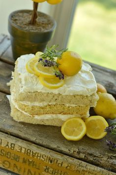 This lemon, lavender & honey naked cake is perfect for your next spring gathering or spa party. It is full of fun ideas including a delicious lunch and dessert table. Spa favor baskets full of themed goodies and relaxing treatments are just a few of the other fun features you don't want to miss. www.glutenfreefrenzy.com