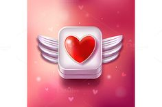 Check out Valentines Day Original Set of Icons by tomuato on Creative Market