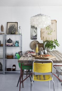 Inspiratieboost: 14x meer kleur in de eetkamer - Roomed