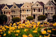 """Visit the """"Full House"""" Home in San Francisco. Because I loved that show growing up. Bucket List Before I Die, Old Time Photos, Places In California, Instagram Wedding, Make Pictures, Full House, Vacation Spots, Things To Do, Girly Things"""