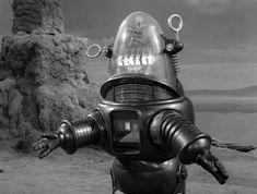 Lost in Space: Season 1, Episode 20 War of the Robots (9 Feb. 1966) Robbie the Robot, Irwin Allen