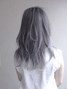 ハイトーンカラー Hair Color 2017, Hair Cutting Techniques, Gorgeous Hair Color, Pastel Hair, Love Hair, Silver Hair, Soft Grunge Hair, Fall Hair, Wig Hairstyles