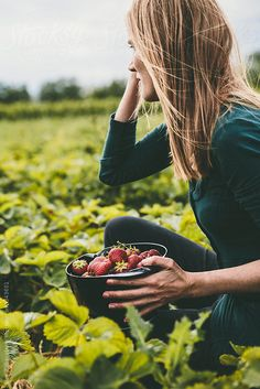 An elaborate series depicting two young women and a man strawberry picking in a field at the end of the summer Strawberry Farm, Strawberry Picking, Strawberry Patch, Strawberry Fields, Farm Photo, Wild Strawberries, Farm Yard, Photos Of Women, Photo Poses