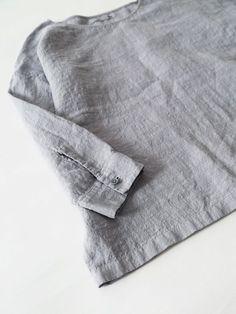 linen washer pullover | evam eva