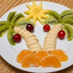 This recipe for a kids fruit salad will make the adults smile as well.. Kids Fruit Salad Recipe from Grandmothers Kitchen.