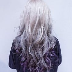 When I decide to embrace my gray hair I'm doing it like this