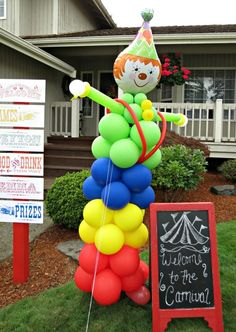 """Photo 4 of 49: carnival party / Birthday """"Peyton & Emma's Carnival Party"""" 