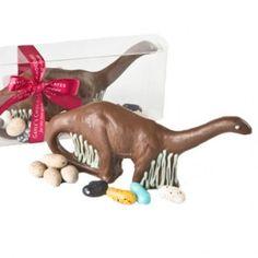 Chocolate Brontosaurus Dinosaur