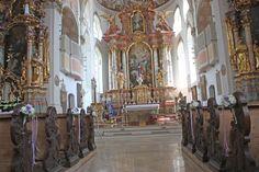 Hochzeit - Katholische Trauung in der Pfarrkirche St. Martin Garmisch-Partenkirchen Mai 2016 - Catholic church wedding in Garmisch, Bavaria, St. Martins church