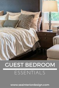 Guest bedrooms can b