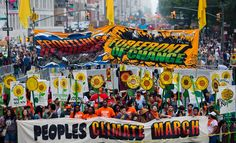 People's Climate March in New York – in pictures