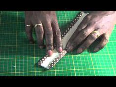 DIY - Como encapar uma alça de bolsa - YouTube