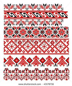 Romanian Traditional Folk Art Embroidery  http://www.pinterest.com/patarosie/the-romanian-blouse/