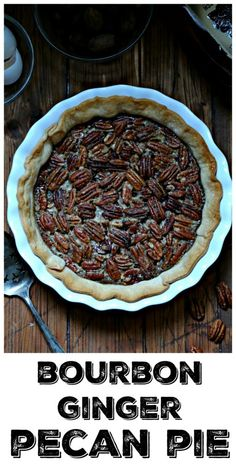 Pecan Pie just got a face lift. Top it with vanilla ice cream and a drizzle of maple syrup to finish! Pecan Pie just got a face lift. Top it with vanilla ice cream and a drizzle of maple syrup to finish! Single Serve Desserts, Desserts For A Crowd, Winter Desserts, Great Desserts, Delicious Desserts, Dessert Recipes, Pie Dessert, Party Desserts, Keto Desserts