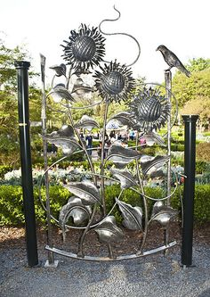 Garden Gate,  this is beautiful.  I would love this at the entrance of my garden