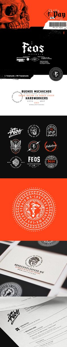 Feos Design Studio - Branding on Behance