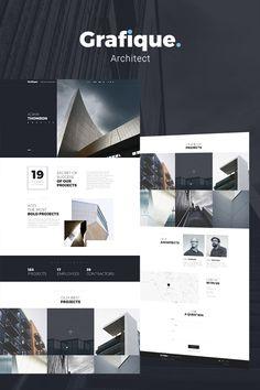 WordPress Template , Grafique - Architect