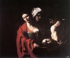 Караваджо. Саломея с головой Иоанна Крестителя.