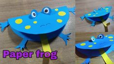Diy crafts for kids || how to make jumping frog || paper crafts ideas