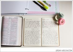 My Journal and Spending Time on What Matters » Kristin Schmucker