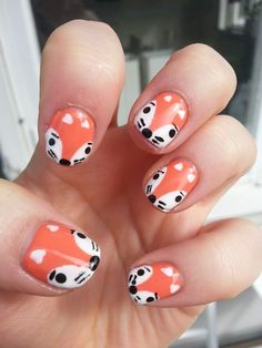 Foxes | Community Post: 14 Insanely Cute Animal Nail Art