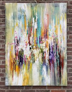 """Buy """" Silence in my mind III """" , abstract painting, Acrylic painting by Mo Tuncay on Artfinder. Discover thousands of other original paintings, prints, sculptures and photography from independent artists. Abstract Painters, Abstract Art, Picasso Paintings, Art Paintings, Original Paintings, Modern Art, Contemporary Art, Painting Inspiration, Mandala"""