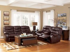 Sofa Cover My new family room furniture Ashley Furniture Gallery Rourke Burgundy power reclining sofa and love seat