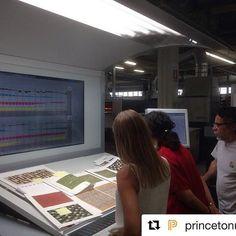On Press. @kmedinamc @princetonupress @albers_foundation  #albers #foundation #press #print #heidelberg #print #sheet #princeton #university #exhibition #quality #onpress #cmyk #picoftheday #contitipocolor