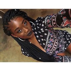 Chocolate queen x Box braids