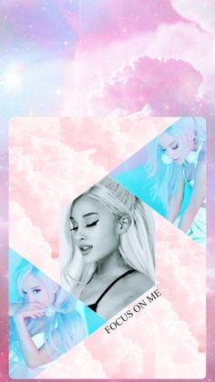 Wallpaper FOCUS ON ME Ariana Grande ✖ (Made by: @Ayssaays on Twitter)