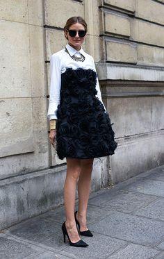 CLASSIC + EASY COMBO | PART 7 | WHITE SHIRT + STRAPLESS DRESS - Le Fashion