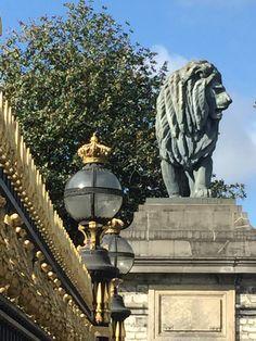 Royal Palace of Laeken Gardens. North of Brussels Belgium.