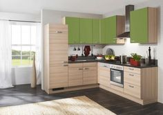 Rohový Kuchyňský Blok Pn 100 Vč. 5dílný Set Spotřebičů