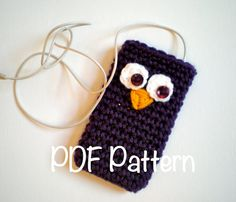 PATTERN 5in1 Cozy iPod iPhone sleeve case cell phone by swellamy, $4.99