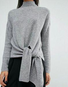 tie sweater
