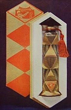 Poiret - Les Parfums de Rosine Arlequinade Paul Poiret was the first fashion designer to launch his own fragrance. It was named after his daughter. Paul Poiret, Chanel Perfume, Antique Perfume Bottles, Solid Perfume, Bottles And Jars, Objet D'art, Art Deco Fashion, Oeuvre D'art, Art Nouveau