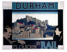 Durham, by Rail Posters - AllPosters.co.uk